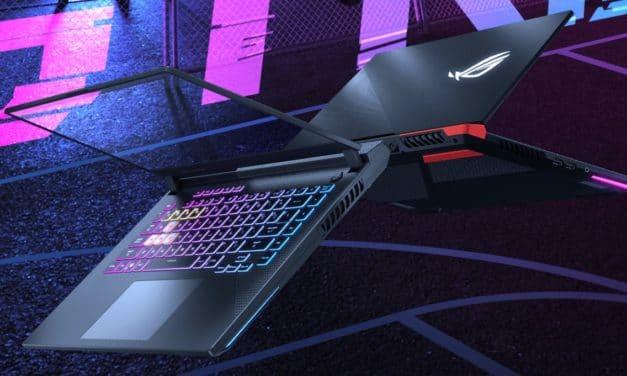 """<span class=""""tagtitre"""">Asus ROG Strix - </span>les PC portables gamer 2021 se dévoilent avec écran 2K 165Hz, RTX 3080, AMD Cezanne Octo Core Ryzen 9 5900HX"""