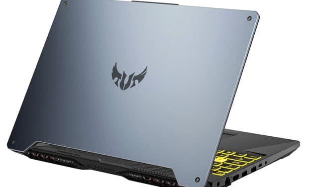 "Asus TUF Gaming A15 TUF566IU-AL136T, PC portable 15"" 144Hz gamer rapide GTX 1660 Ti RAM 16 Go (1303€)"