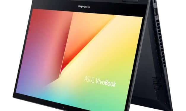 Asus Vivobook Flip TM420IA-EC050T, ultrabook 14 pouces convertible en tablette bureautique (729€)