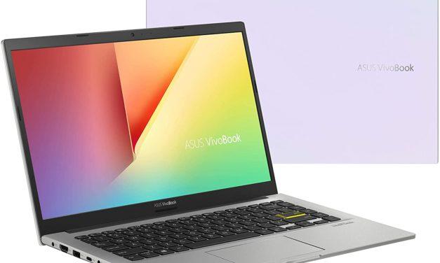 Asus Vivobook S413FA-EK759T, ultrabook 14 pouces blanc pour la bureautique (569€)