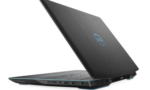 """Dell G3 15 3500-860, PC portable 15"""" 144Hz gamer créateur RTX 2060 SSD 1 To TB3 Wi-Fi ax (1499€)"""