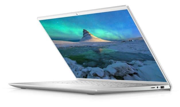 "<span class=""promo"">Promo 1099€</span> Dell Inspiron 14 7400, Ultrabook 14"" QHD+ Retina 100% sRGB  argent polyvalent Tiger Lake Iris Xe MX350 TB4 léger et rapide"