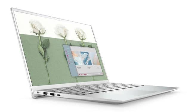 "Dell Inspiron 15 5502-154, Ultrabook 15"" argent polyvalent rapide fin et léger Tiger Lake Iris Xe MX330 (999€)"