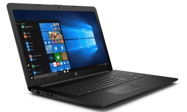 "HP 17-by3084nf, PC portable 17"" noir rapide SSD avec gros stockage 1.1 To (639€)"