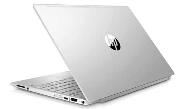 """HP Pavilion 13-an1026nf, Ultrabook 13"""" argent léger fin et rapide avec SSD et clavier rétro éclairé 7h (659€)"""