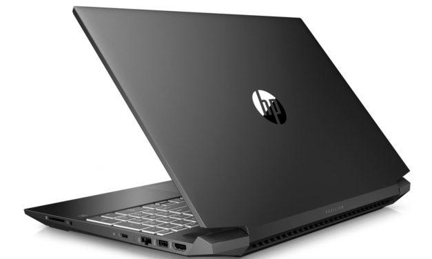 HP Pavilion Gaming 15-ec1096nf, PC portable 15 pouces sobre pour jeu et polyvalence avec GTX 1650 Ti (799€)