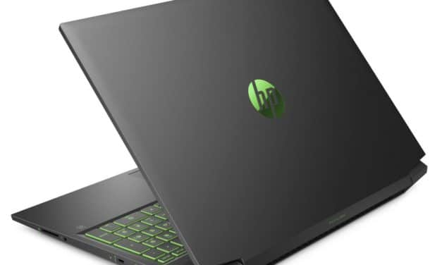 HP Pavilion Gaming 16-a0082nf, PC portable gamer 16 pouces RTX 2060 Max-Q (1299€)