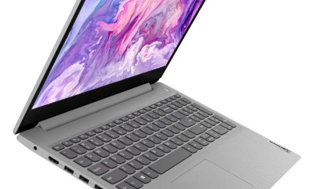Lenovo IdeaPad 3 15IIL05, ultrabook 15 pouces rapide multimédia (799€)