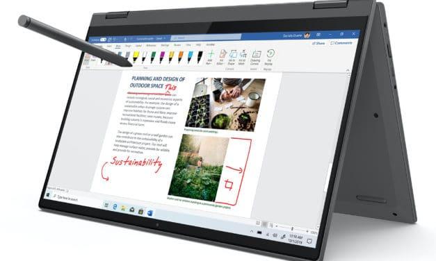 """Lenovo IdeaPad Flex 5 14IIL05, ultrabook 14"""" convertible tablette avec SSD 1 To et stylet pour le multimédia (1031€)"""