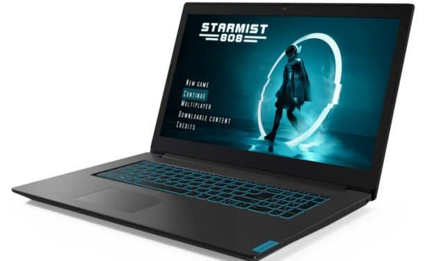 "<span class=""promo"">Promo 849€</span> Lenovo Ideapad L340-17IRH, 17 pouces gamer et polyvalent sobre avec GTX 1650"