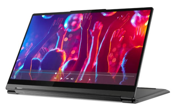 "Lenovo Yoga 9 14ITL5 (82BG0014FR), Ultrabook 14"" 4K tactile > Tablette polyvalent Tiger Lake Iris Xe SSD 1 To (2029€)"