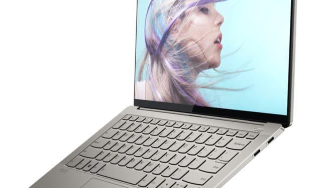 Lenovo Yoga S940-14IIL, ultrabook 14 pouces multimédia 4K léger et rapide (1739€)