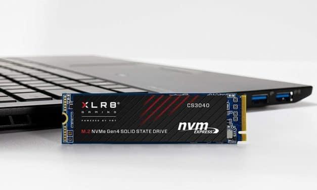 PNY XLR8 CS3040, SSD M.2 rapide de 512 Go à 2 To format PCIe 4.0, garanti 5 ans