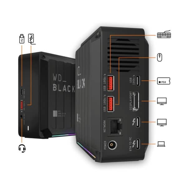 WD Black D50 Game Dock NVMe