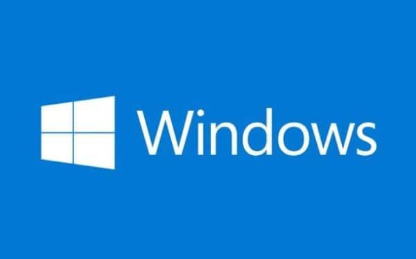Windows banniere bleue