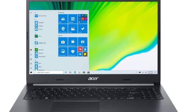 """<span class=""""nouveau"""">Nouveau 649€</span> Acer Aspire 5 A515-44-R8E9, PC portable 15"""" noir fin rapide et léger avec SSD 512 Go"""