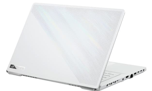 """Asus Zephyrus G15 GA503QS-003T, PC portable 15"""" QHD 165Hz Pantone gamer créateur blanc puissant AMD léger RTX 3080 Ryzen 9 (2499€)"""