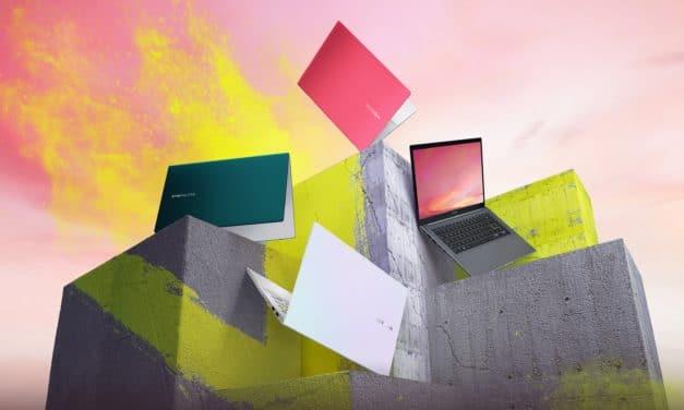 """<span class=""""tagtitre"""">CES 2021 - </span>Asus met à jour ses Zenbook 13 (UM325), Zenbook 14 (UM425) et VivoBook 14/15 (M433/M533 ; M413/M513) sous AMD Ryzen 5000U"""