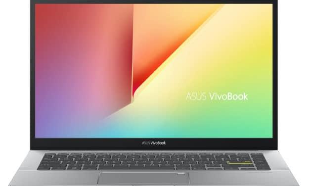 Asus VivoBook S433IA-EB398T, ultrabook 14 pouces puissant et pas cher avec Ryzen 7 (759€)
