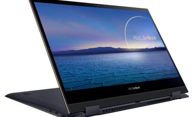 """Asus ZenBook Flip S UX371EA-HL036T, ultrabook 13"""" convertible tablette léger 4K OLED pour multimédia (1499€)"""