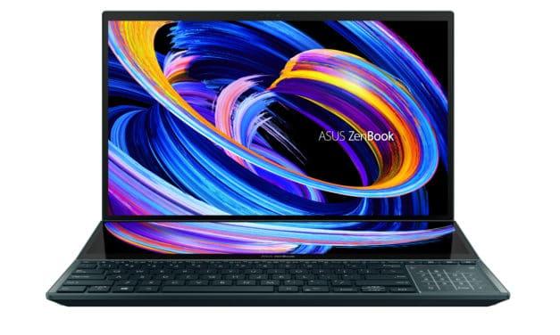 Mise à jour des Asus ZenBook Duo UX582 UX482 à l'occasion du CES 2021