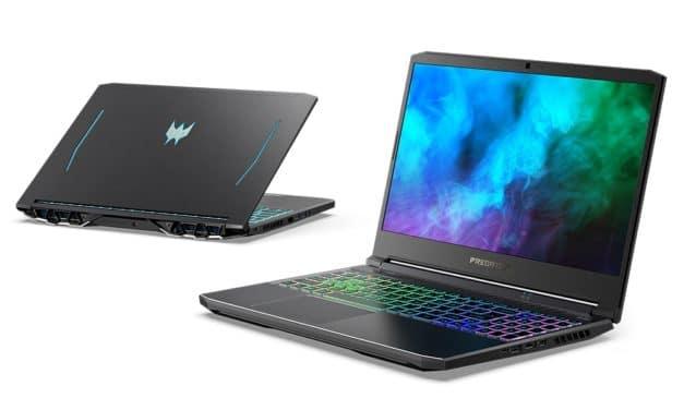 """<span class=""""tagtitre"""">CES 2021 - </span>Acer annonce ses PC portables gamer Predator, Helios, Triton et Nitro 5 avec Tiger Lake-H, Ryzen 5000 et GeForce RTX 3000 Ampere"""