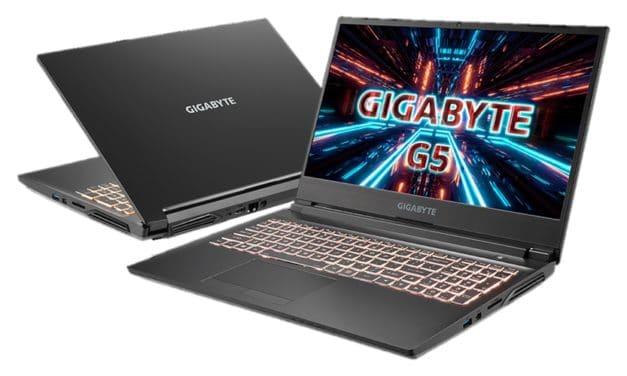 """<span class=""""tagtitre"""">CES 2021 - </span>Gigabyte G5/G7 KC, A5 X1/K1 et A7 K1, PC portables 15"""" et 17"""" Cezanne Ryzen 5000 ou Comet Lake-H, GeForce RTX 3000 Ampere"""
