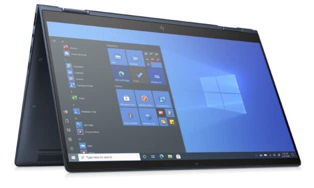 "<span class=""tagtitre"">CES 2021 - </span>HP Elite DragonFly G2 et Max, Ultrabooks 13"" 2-en-1 Tablette 4K Tiger Lake Thunderbolt et 5G ,998 gr"