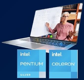 """<span class=""""tagtitre"""">CES 2021 - </span>Intel Jasper Lake, nouveaux processeurs Celeron et Pentium à cœur Atom Tremont pour PC portables pas chers"""