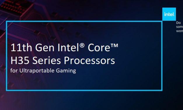 Intel Tiger Lake-H, des processeurs pour PC portables gamer et performants