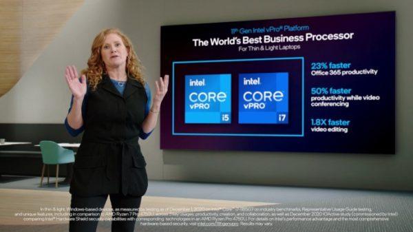 CES 2021 Intel Tiger Lake vPro Core 11eme Gen