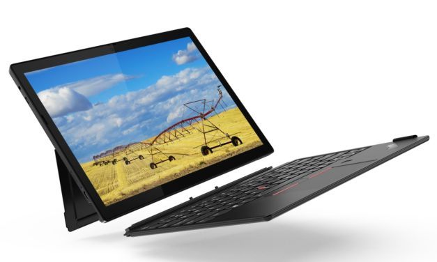 """<span class=""""tagtitre"""">CES 2021 - </span>Lenovo ThinkPad X12 Detachable, Ultrabook 12 pouces 3:2 tactile à écran détachable sous Tiger Lake vPro et Iris Xe, TB4 et 4G"""