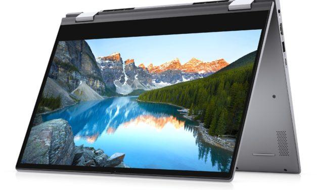 Dell Inspiron 14 5406 2-en-1, ultrabook tablette 14 pouces productif avec Iris Xe (799€)