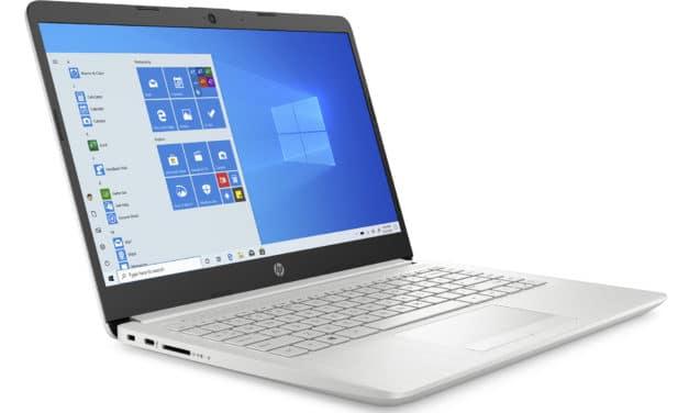 HP 14-cf2010nf, ultrabook 14 pouces bureautique pas cher (474€)