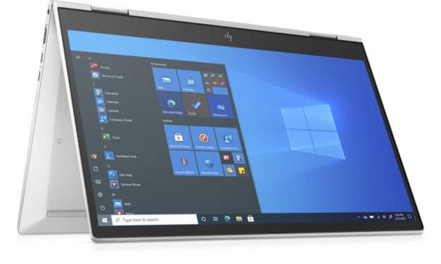"<span class=""tagtitre"">CES 2021 - </span>HP EliteBook (x360) 830 G8, Ultrabook 13"" (tactile > Tablette) Tiger Lake Iris Xe avec 4G ou 5G et Thunderbolt 4"