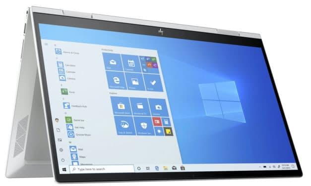 HP Envy x360 15-ed1038nf, ultrabook 15 pouces convertible en tablette rapide multimédia avec Iris Xe (1159€)