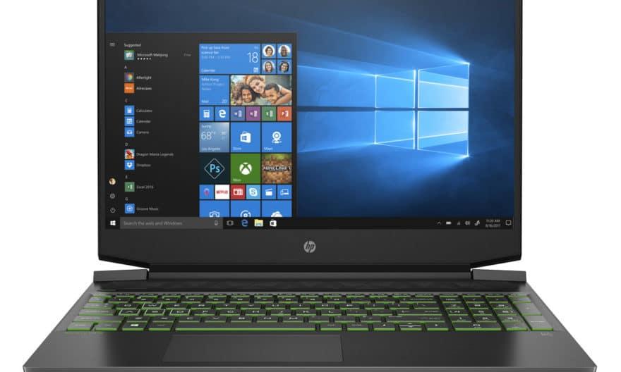 """<span class=""""nouveau"""">Nouveau 1049€</span> HP Pavilion Gaming 15-ec1141nf, PC portable 15"""" léger pour créer et jouer avec GeForce GTX 1650 et Octo Core AMD"""
