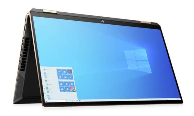"HP Spectre x360 15-eb1000nf, Ultrabook 15"" 4K tactile > Tablette polyvalent Tiger Lake Iris Xe fin et léger TB4 (1699€)"