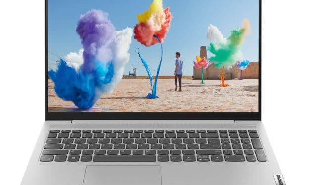 "Lenovo Ideapad 5 15ARE05-967 (81YQ00CDFR), PC portable 15"" polyvalent AMD Octo Core 8h fin léger et rapide (799€)"