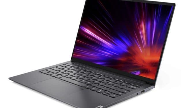 "<span class=""tagtitre"">CES 2021 - </span>Lenovo Yoga Slim 7i Pro, Ultrabook avec écran 14"" OLED 90Hz 100% DCI-P3 sous Tiger Lake certifié Intel Evo"