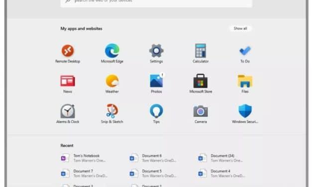 """<span class=""""tagtitre"""">Windows 10X - </span>une version en fuite du futur système d'exploitation pour PC portables tactiles et double écran"""
