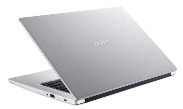 """Acer Aspire 3 A314-22-R73E, PC portable 15"""" polyvalent argent pas cher léger rapide et fin avec SSD (599€)"""