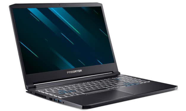"<span class=""promo"">Promo 1249€</span> Acer Predator Triton 300 PT315-52-72DN, Ultrabook 15"" 120Hz gamer créateur léger RTX 2060 Wi-Fi ax"