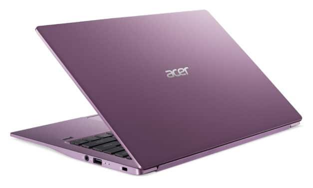 "<span class=""promo"">Promo 699€</span> Acer Swift 3 SF314-42-R44F, PC portable 14"" polyvalent design original violet AMD nomade 8h fin rapide et léger"