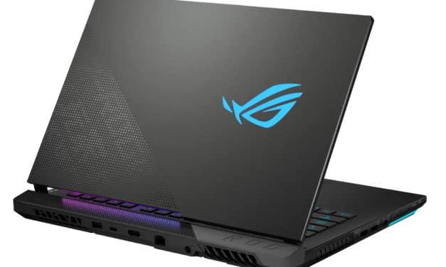 """Asus ROG Strix Scar 15 G533QS-HF009T, PC portable 15"""" 300Hz puissant créateur RTX 3080 Ryzen 9 NumPad (3199€)"""