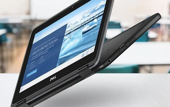 """Dell Chromebook 3100 (2-en-1), ultraportable 11"""" (tactile > Tablette) d'entrée de gamme sous Chrome OS pour l'enseignement 14h"""