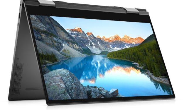 Dell Inspiron 15 7506 2-en-1, ultrabook 15 pouces convertible tablette polyvalent avec écran 4K et Iris Xe MAX (1449€)