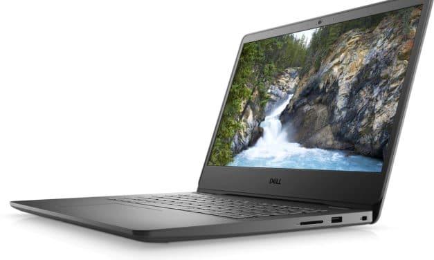 """Dell Vostro 14 3400, Ultrabook 14"""" noir polyvalent Tiger Lake Iris Xe abordable pour les professionnels"""