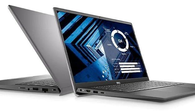 """Dell Vostro 14 5402, Ultrabook 14"""" gris polyvalent fin et léger Tiger Lake Iris Xe / MX330 pour les petites entreprises"""