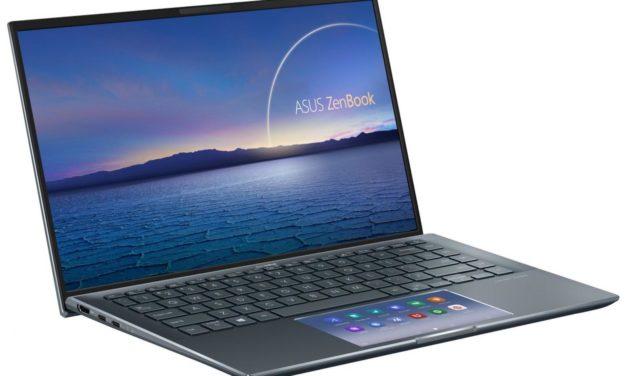 "Asus ZenBook UX435EA-A5011T, Ultrabook 14"" polyvalent rapide et léger avec ScreenPad Tiger Lake Iris Xe SSD 1 To (1669€)"
